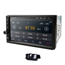 7inch Android 10.0 Double 2Din InDash Car No DVD Radio Stereo WiFi GPS +Cam Mic
