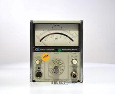 Agilenthp 435a Analog Power Meter 100khz 18ghz 65dbm To 44 Dbm Ref686
