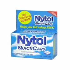 Nytol Nighttime Sleep-Aid Caplets, 16 caplets (3 Pack)