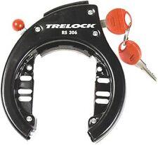 Trelock Fahrrad-Rahmenschloss RS306 Befestigung an Pletscherplatte Aufbohrschutz