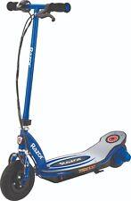 Rasoio Nuovo di Zecca KID'S E100 POWERCORE Blu Scooter Elettrico Motore a coppia elevata