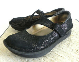 Alegria Mary Janes Leather Upper/Lining Round Toe Size 39(US 9)