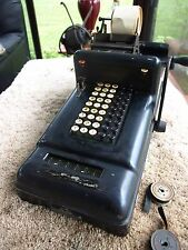 Antique Burroughs Class 3 Model 301 Adding Machine - Works
