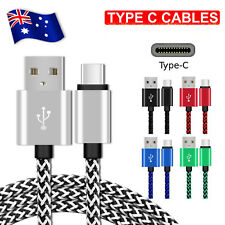 Type-C USB-C to Male Data Snyc Charger Charging Cable For Samsung Galaxy S9 S8 +