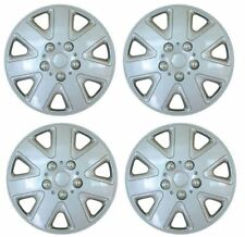 "4x 15"" Silver Wheel Trims / Hub Caps fits Ford Focus Mondeo Kuga C-Max S-Max"