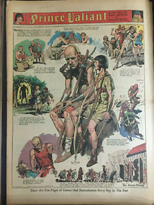 Hal Foster PRINCE VALIANT 393 pages including 88 Full Pages 9/1/68-1/17/71