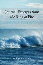 Revista extractos del anillo de fuego, Wolf, Barbara 9781496927392 Nuevos,,