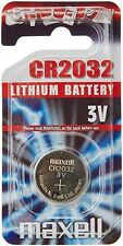 Maxell CR2032 2032 3V Lithium Coin Watch Button Cell Battery BG11