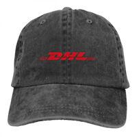 DHL Logo Cowboys Unisex Adjustable Snapback Baseball Cap Hat