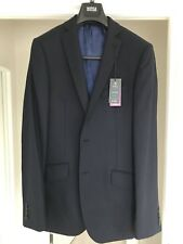 Brand New Marks & Spencer M&S Premium suit jacket size 40 XL Long Navy Slim Fit