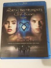 The Mortal Instruments: City of Bones (Blu-ray Disc, 2013, Canadian)