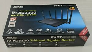 ASUS RT-AC3200 Tri-band Gigabit 802.11ac MIMO 1300Mbps Wireless AC Router