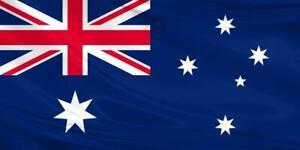 Australian Flag 5x3/150x90cm Large Polyester Aussie Australia Day Oz Rugby Sport