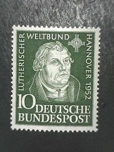 West Germany 1952 Luther MNH  Mi 149