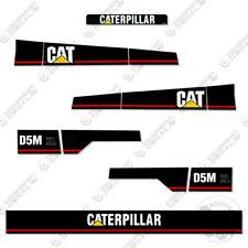 Caterpillar D5M XL Dozer Decal Kit Equipment Decals