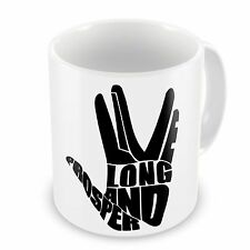 Live Long And Prosper Funny Novelty Gift Mug