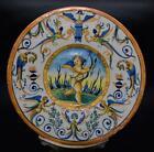 Superb Antique 18th / 19thC Italian Maiolica Plate Majolica Faience - Pesaro?