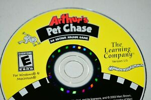 Arthur's Pet Chase PC Learning Company CD-Rom Disc Only B1