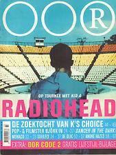 MAGAZINE OOR 2000 nr. 19 - RADIOHEAD / K'S CHOICE / ANDRE HAZES / SOULFLY /BJÖRK