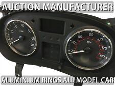 Renault Trafic II phase I 2001-2014 Aluminium Polished Chrome Dial Rings Set x2