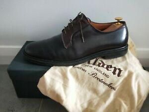 Alden shell cordovan Blucher shoes size 11 (fit like US 12)