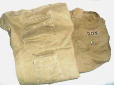 Bulk Lot 20 kg/44 lbs Idf Zahal Israel Uniform Shirts Pants Bags Net for Helmet