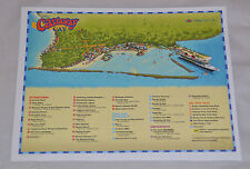 "New 2016 Disney Cruise Line - Castaway Cay Island Map! Same As On Ship (11x8.5"")"