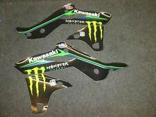Kawasaki KXF250 2013-2016 Ryan Villopoto Team USA radiator shroud graphic GR1503