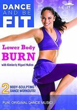 DANCE FIT LOWER BODY BURN - DVD - REGION 2 UK