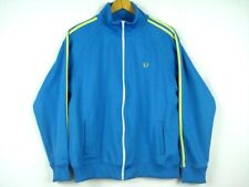 Vintage FRED PERRY Portugal Track Jacket Jersey Shirt Full Zip Sz L