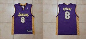 Kobe Bryant Los Angeles Lakers Basketball Jersey Reebok USA NBA Size M Vintage