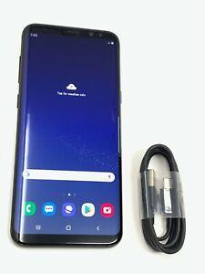 Samsung Galaxy S8 Plus 64GB Midnight Black Unlocked SM-G955W Canadian GSM #8007