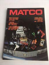 1992- 93 Matco Vintage tool and equipment catalog diagnostics automotive boxes