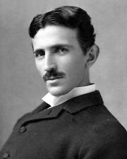 New 8x10 Photo: Electrical Engineering Pioneer and Inventor Nikola Tesla