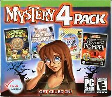 MYSTERY COOKBOOK Hidden Object MYSTERY 4 PACK PC Game CD-ROM NEW