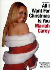 Mariah Carey All I Want For Christmas Is You SHEET PIANO PVG Music Book HITS