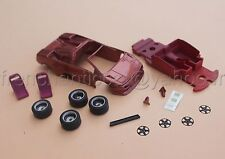 WA LAMBORGHINI Diablo collector 1/43 Heco miniatures voiture rouge rose resine
