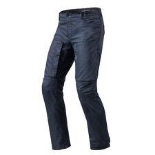 Pantaloni blu marca Rev ' it per motociclista