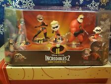 "Incredibles 2 Family Figurine Pack Disney Pixar ""NEW"""