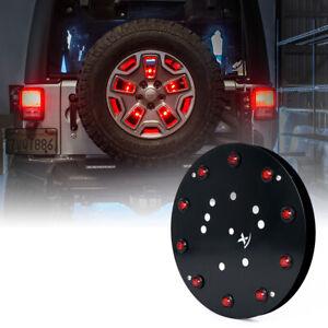 """12.5"""" Spare Tire LED Brake Light Rear Wheel Taillight for 07-18 Jeep Wrangler JK"""