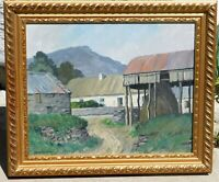 Sean O'Connor, Irish artist b.1909 oil/board 16 x 20