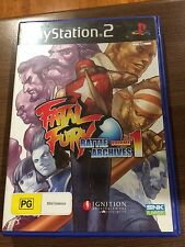 Fatal Fury Battle Archives volume 1, PS2, Playstation 2, disc near mint conditio