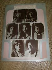 3 Three Dog Night Concert Tour Program 1971 Chuck Negron Cory Wells Danny Hutton