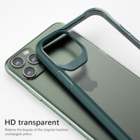 For iPhone 11 Pro Max XR XS Shockproof Slim Hybrid HD Clear Hard Back Case Cover