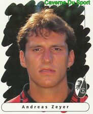 056 ANDREAS ZEYER GERMANY SC.FREIBURG STICKER FUSSBALL 1996 PANINI