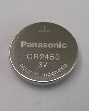 5x cr2450 pila de botón 3v batería, 620mah bulk Panasonic