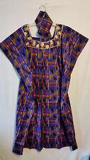 Womens Clothing African Kente Print Maxi Kaftan Caftan Long Dress Plus Size P# 9