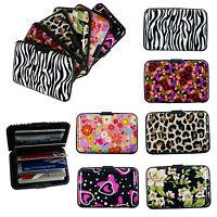 Designed Business ID Credit Card Wallet Holder Aluminum Covered  Pocket Case