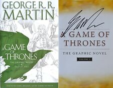 George R.R. Martin SIGNED Game of Thrones Graphic Novel II 1st/1st NEW