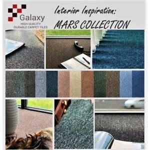50X50CM 20Pcs 5m2 box GALAXY Premium Grade Carpet Tiles Heavy Duty FREE DELIVERY